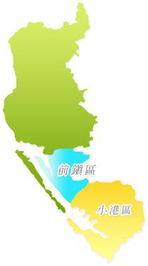 前鎮地政的轄區範圍